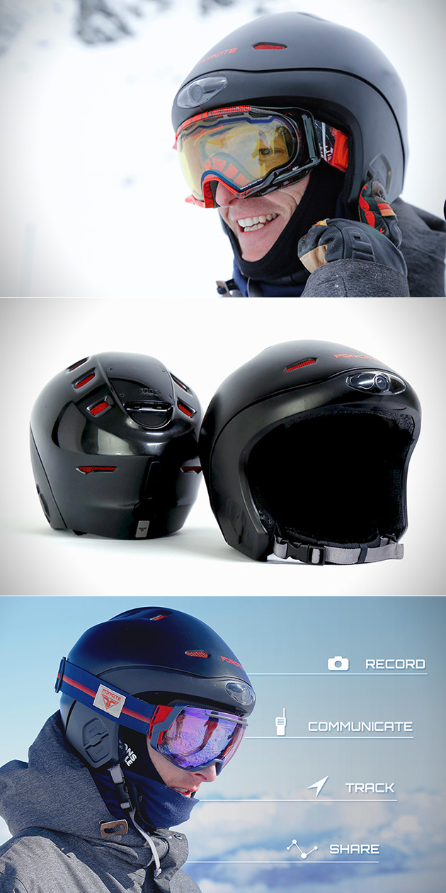 Forcite Alpine Smart Snow Helmet