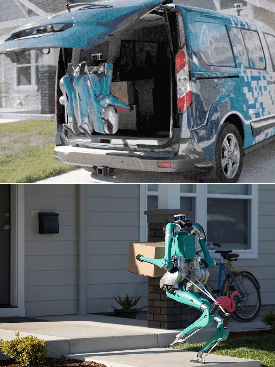 Ford Autonomous Digit Robot