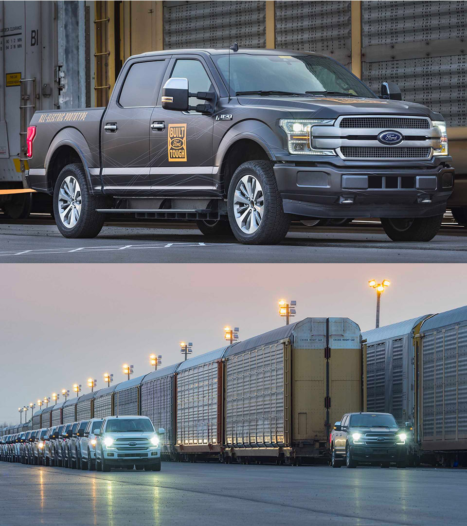 Ford Electric F-150 Truck