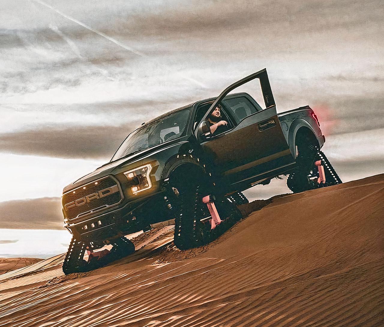 Ford F-150 Raptor Tracks