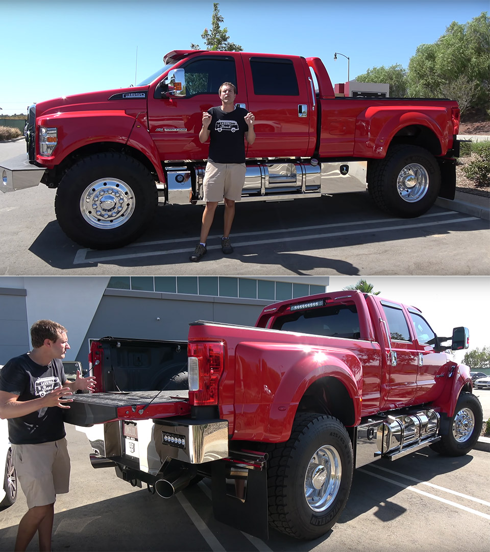 Ford F-650 Truck