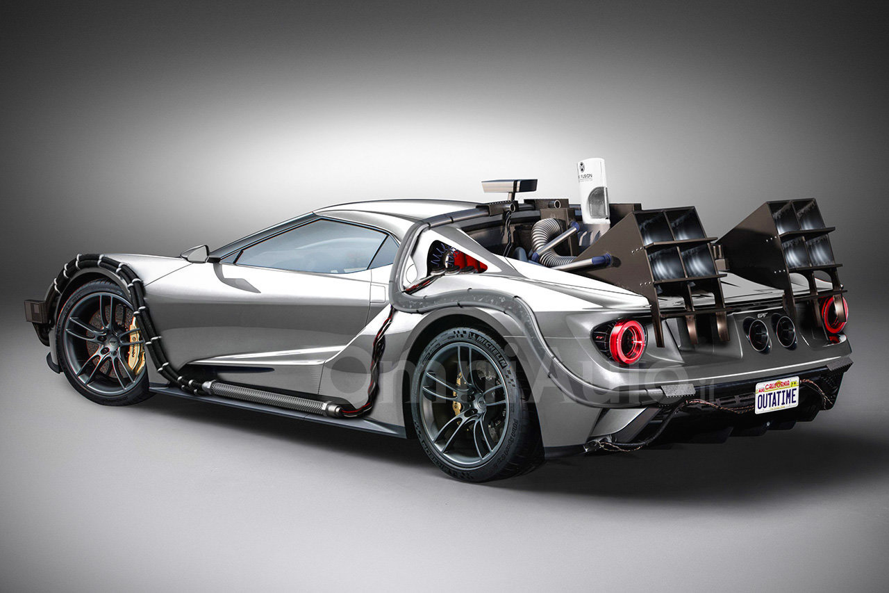 Ford GT Time Machine
