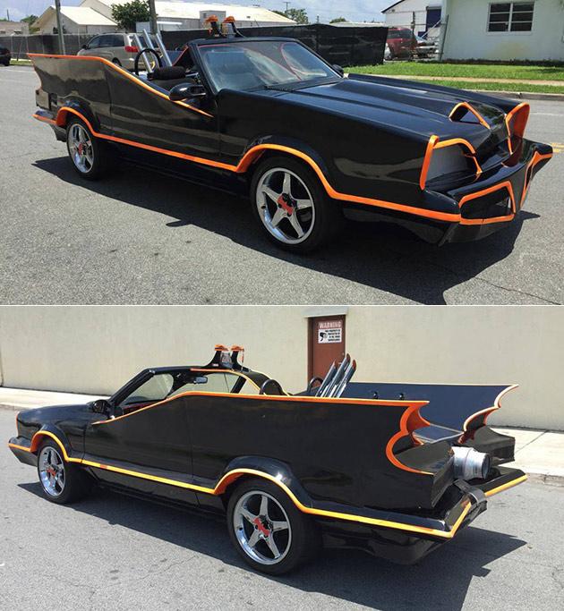 Ford Mustang Batmobile