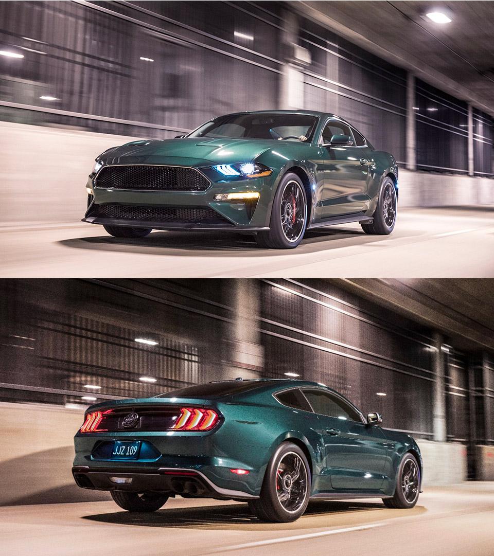 Ford Mustang Bullitt Autobahn