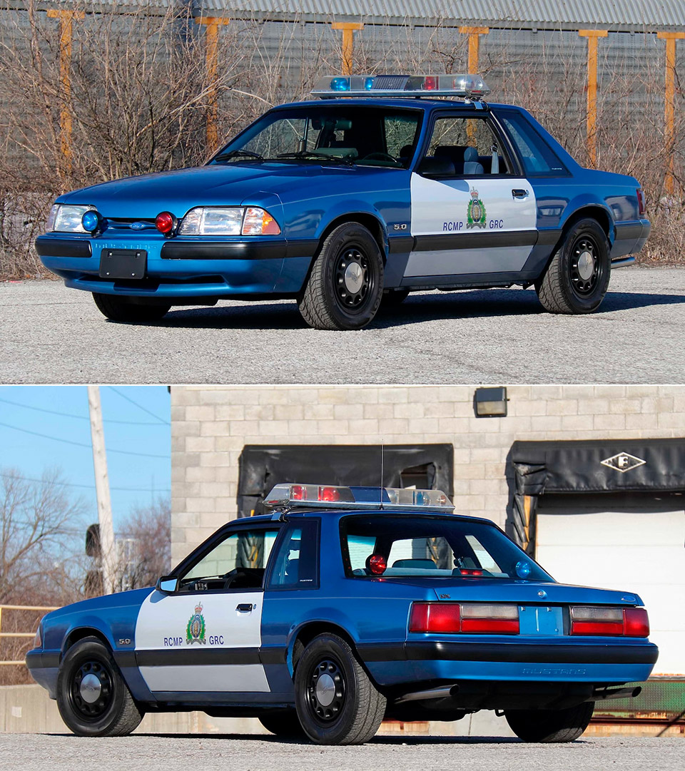 Ford Mustang SSP RCMP Canada Police Car