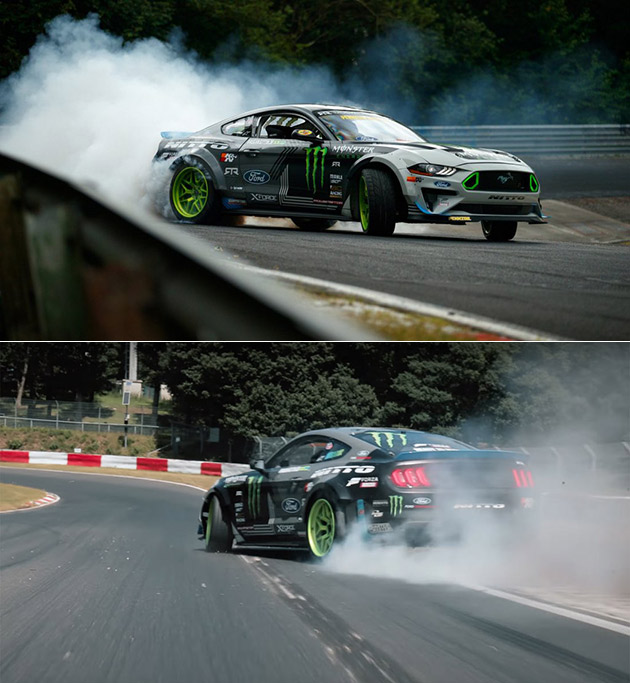 Ford Mustng RTR Drift Nurburgring
