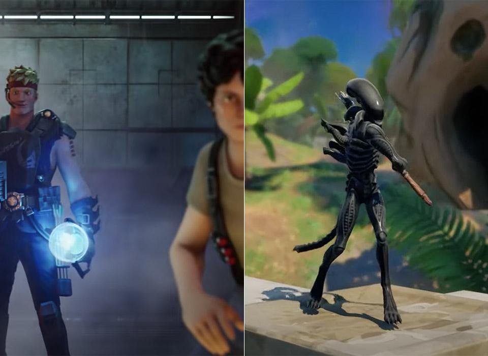 Fortnite Alien Ellen Ripley Xenomorph
