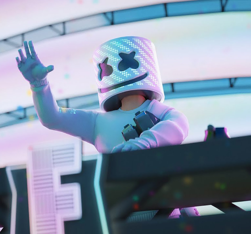 Fortnite Marshmello Concert