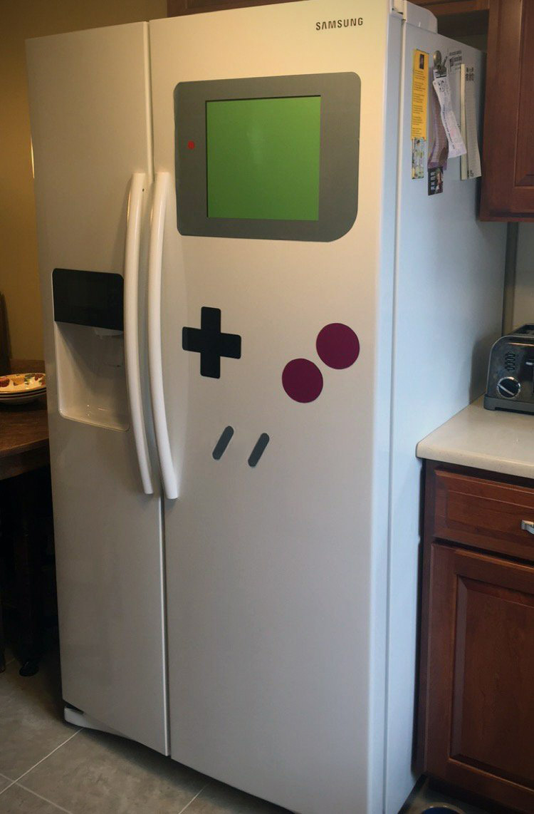 FreezerBoy Game Boy Magnets