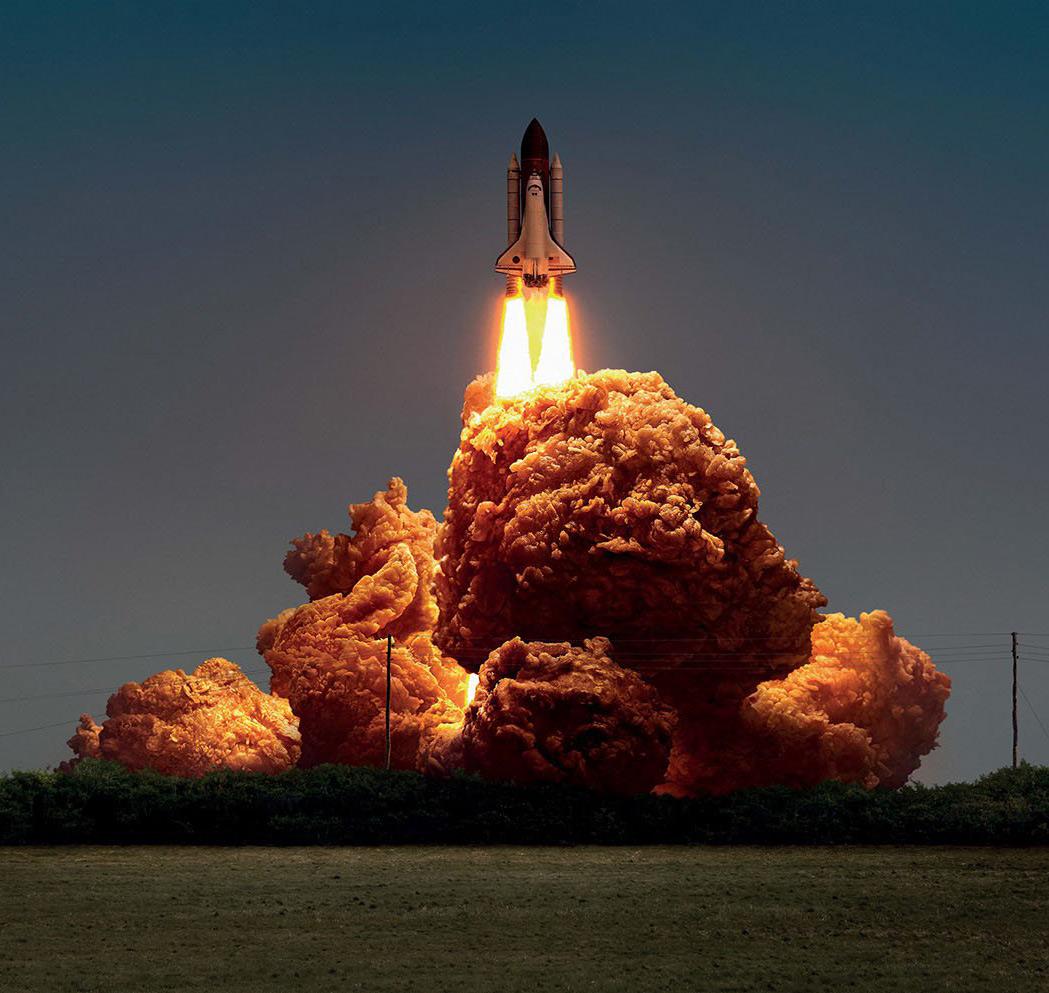 Fried Chicken Explosion