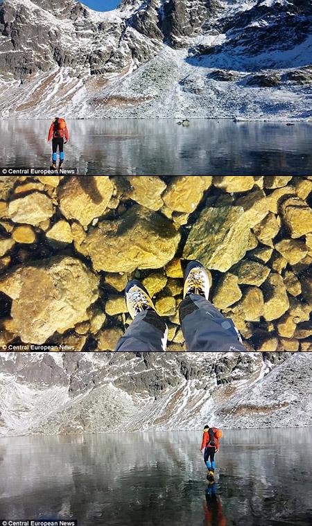 Frozen Lake Video