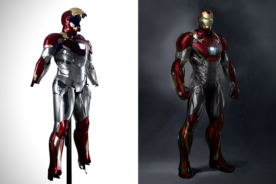 Full Body Armors Iron Man Suit