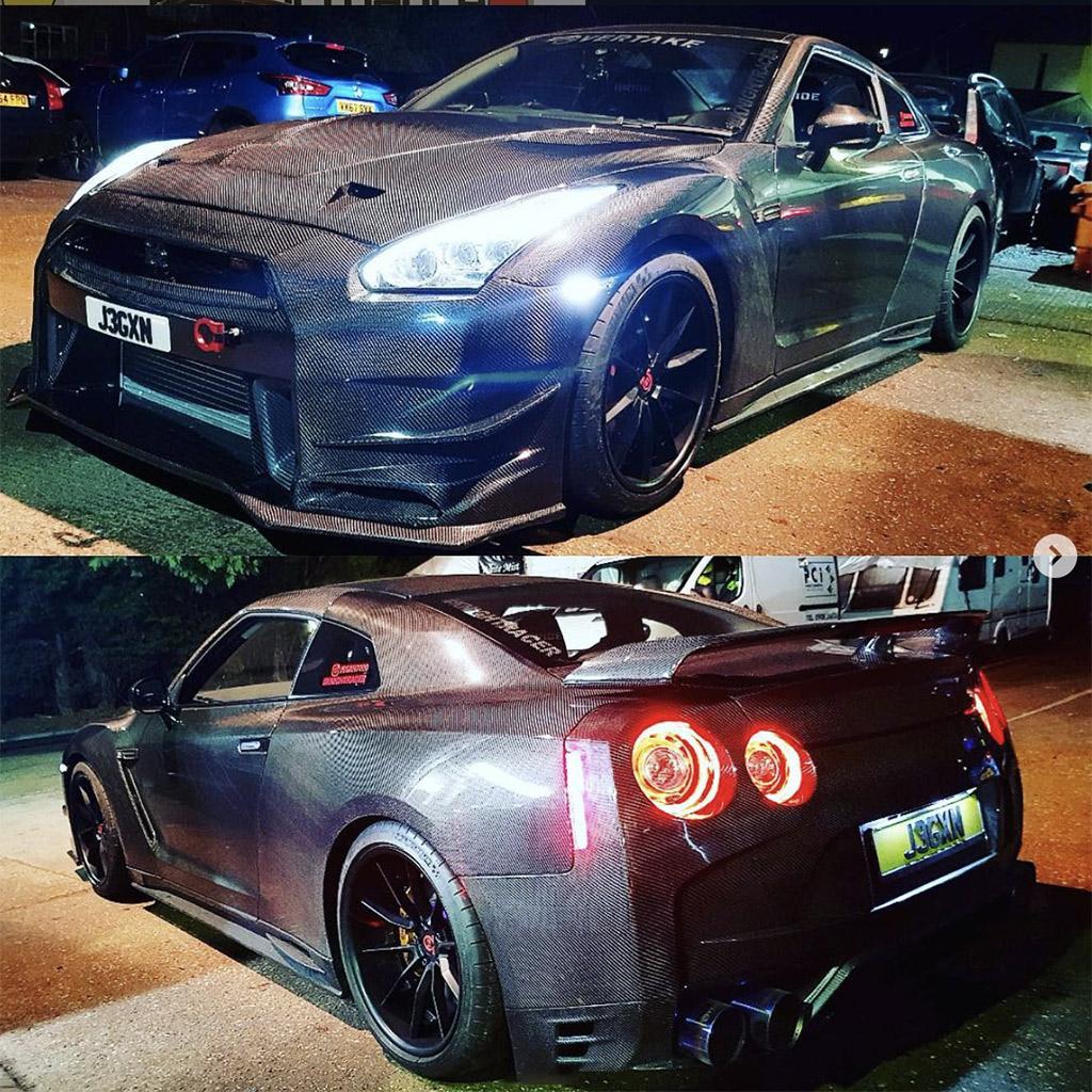 Full Carbon Nissan GT-R