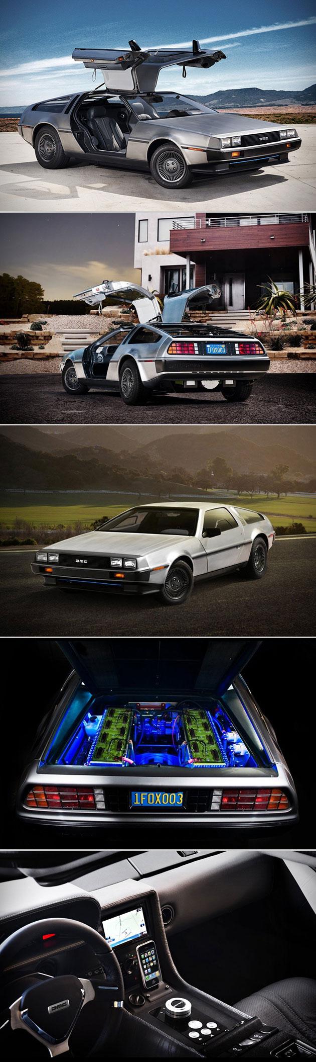 Full Electric DeLorean