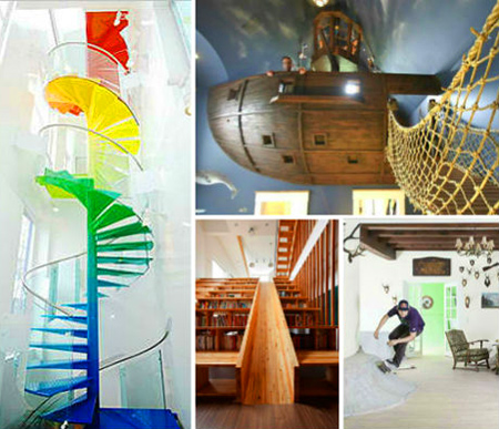 12 Cool Homes That Have Fun Unexpected Twists TechEBlog