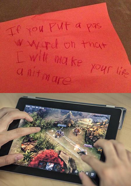 Funny Children Note