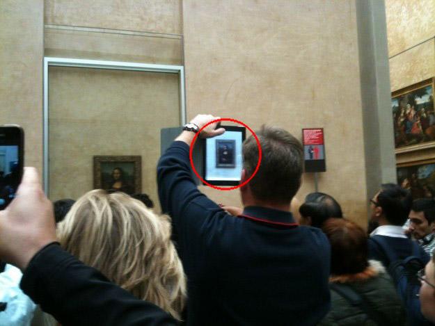 Funny iPad Photography