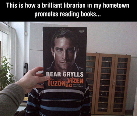 20 Funny Examples Of How One Librarian Decided To Get People To Read Techeblog