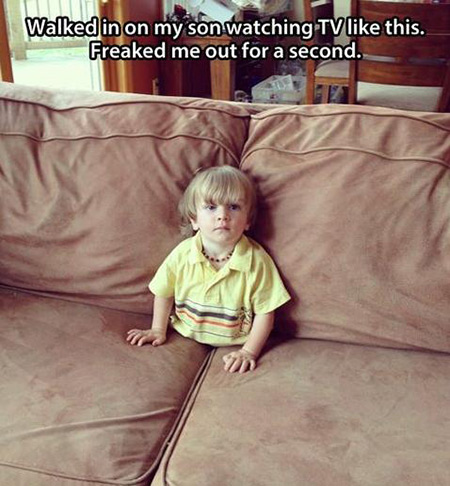 Funny And Geeky Examples Of Kids Doing Weird Things