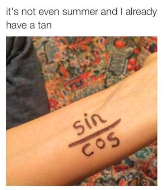 Funny Tan