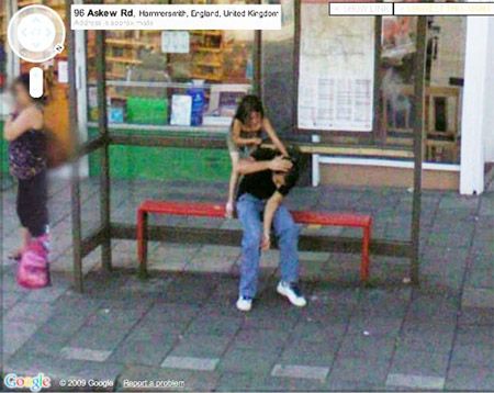 google street view funny pictures. Google Street View