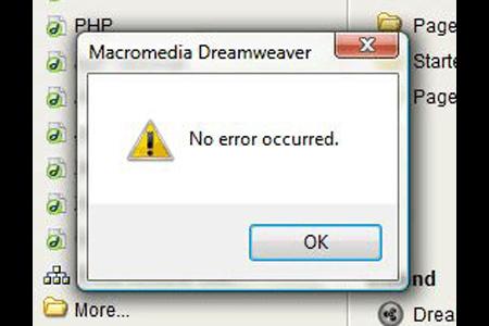 funny error messages. Error Message for No Error