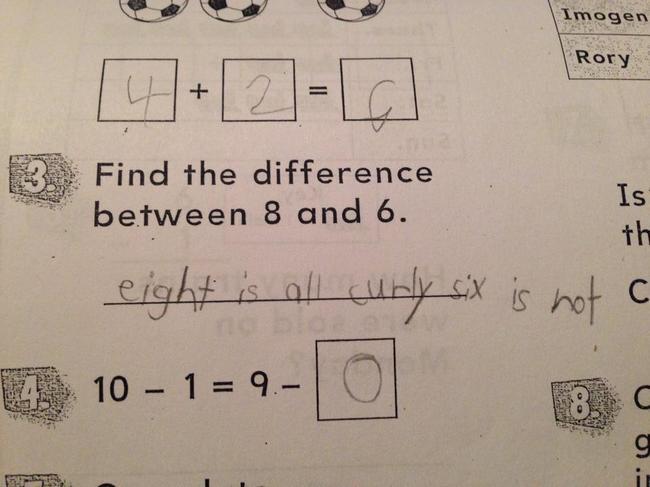Funny Homework