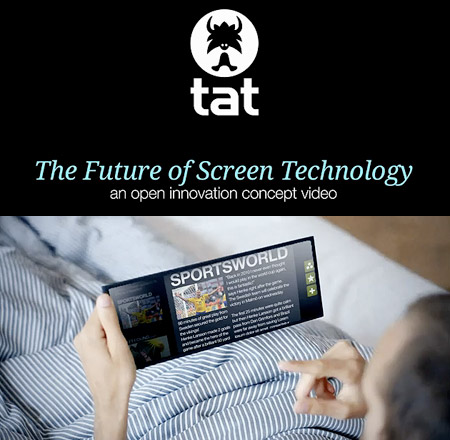 future screen - Vídeo: o futuro das telas e monitores