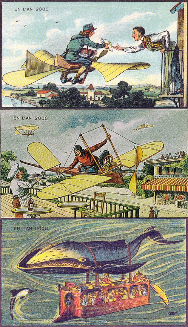 19th Century Postcards of Year 2000