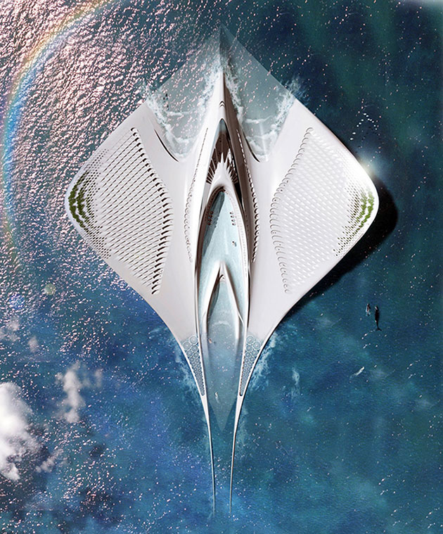 Floating City Manta Ray