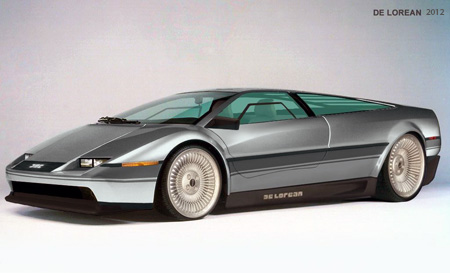 Toyota Supra Crashed For Sale >> What a Futuristic DeLorean Might Have Looked Like - TechEBlog