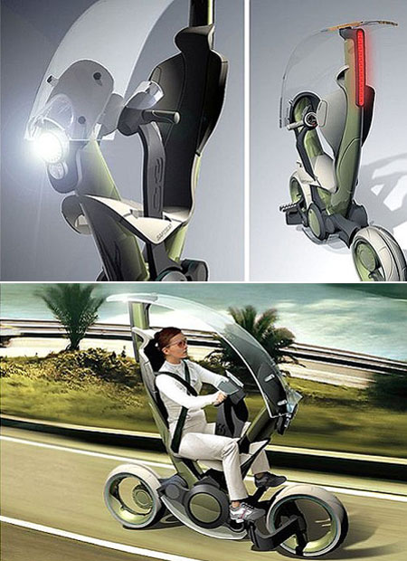 7 Futuristic Scooters and Chairs - TechEBlog