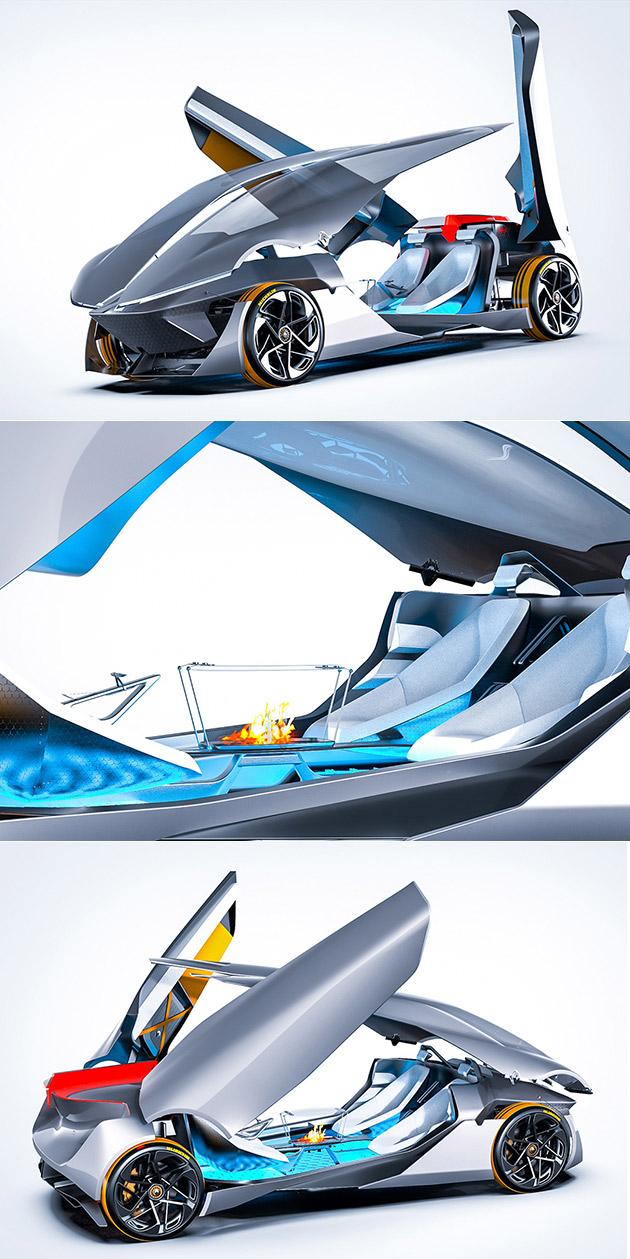 Futuristic Renault Concept