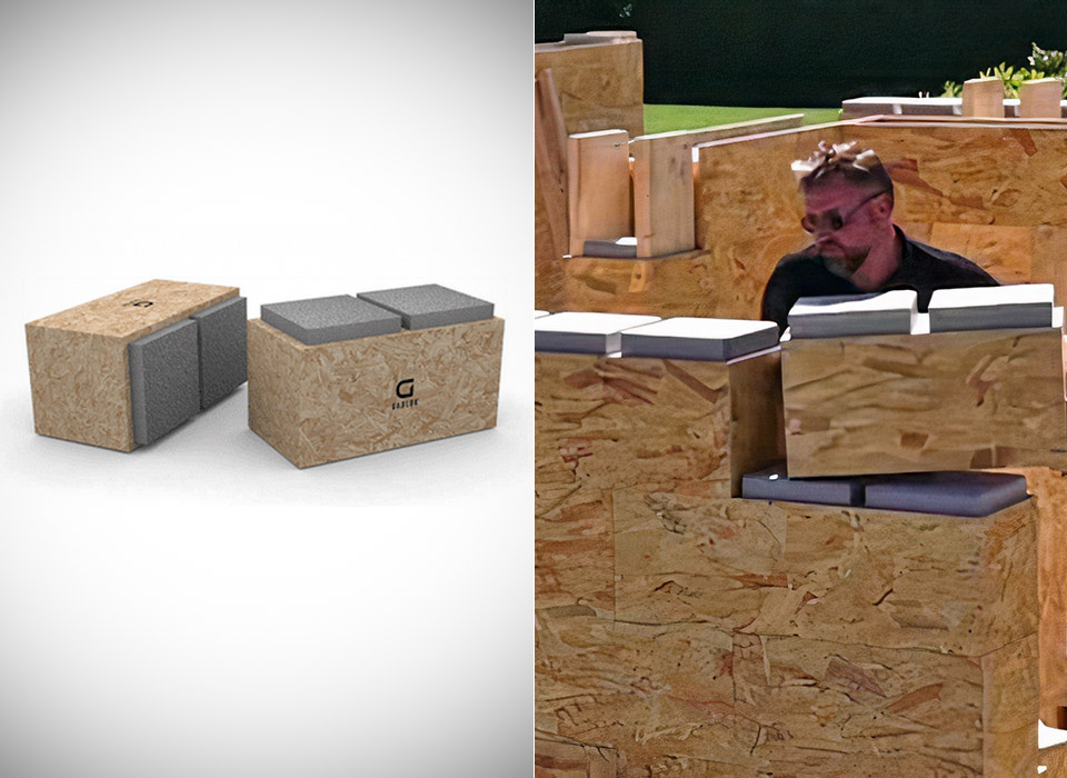 Gablok Bricks Real LEGO House