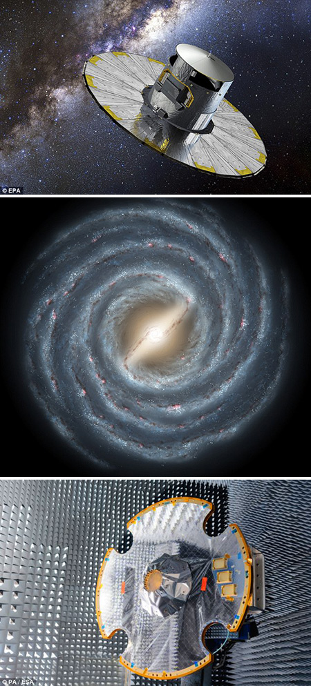 gaia spacecraft mission - photo #28