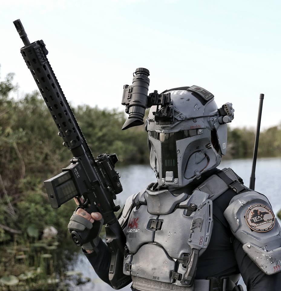 Galac Tac Project Mandalorian Armor