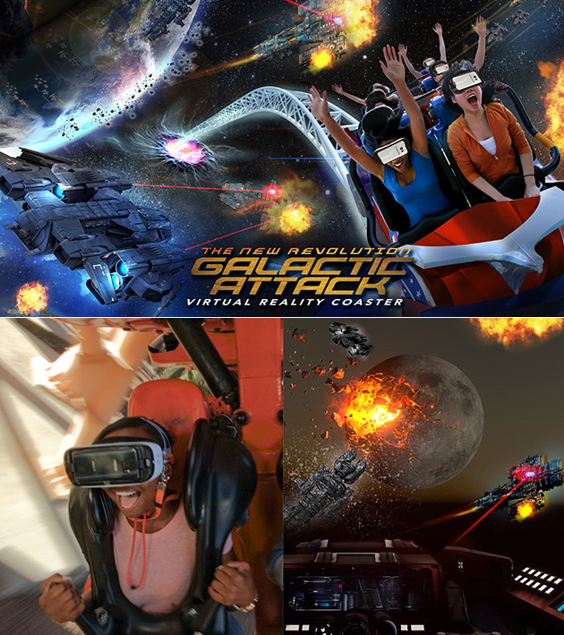 Galactic Attack VR