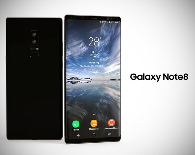 Galaxy Note 8 Leaked