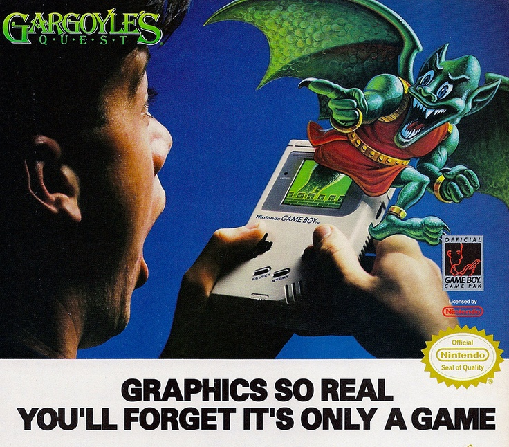 Game Boy Ad 1989