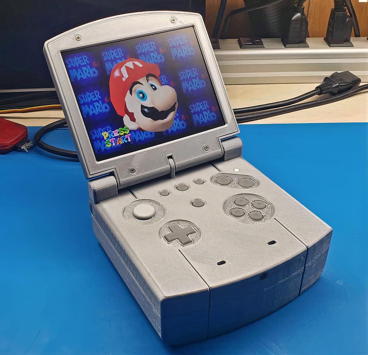 Game Boy Advance SP N64 Portable