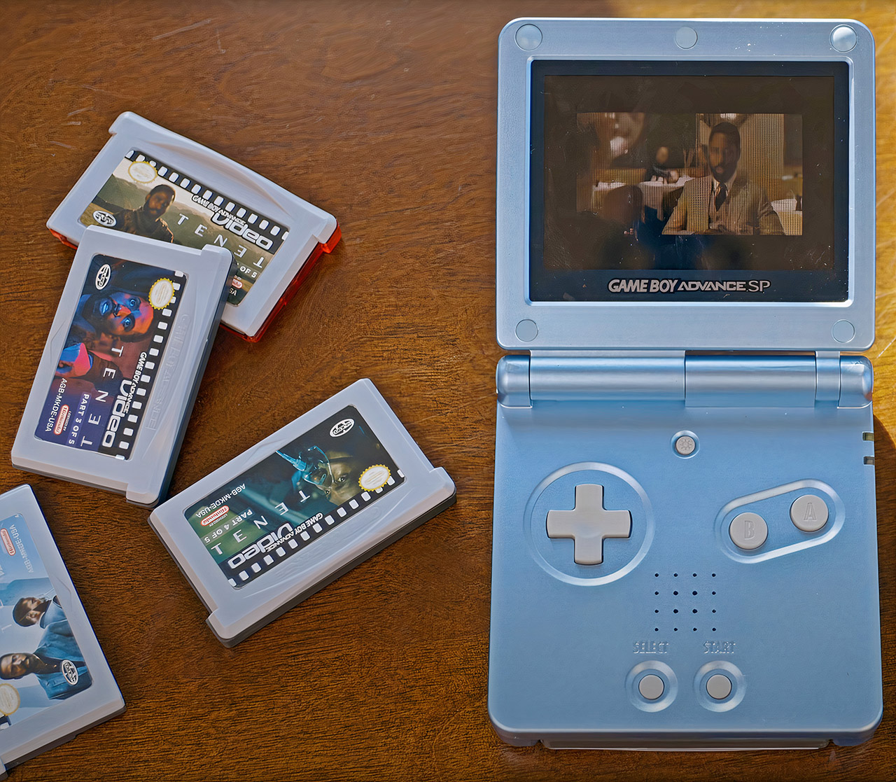 Tenet Game Boy Advance Cartridge