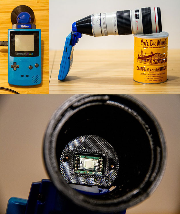 Game Boy Camera DSLR Lens