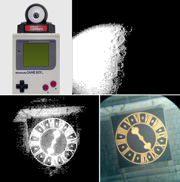 Game Boy Camera Moon
