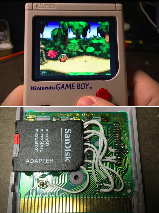 Game Boy Hacked