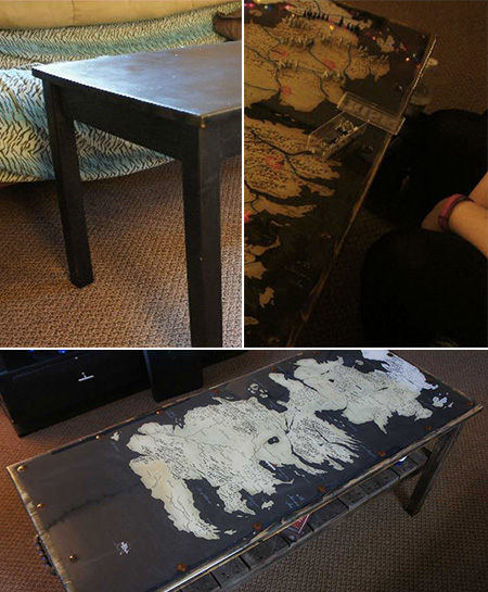 Game of Thrones Coffee Table