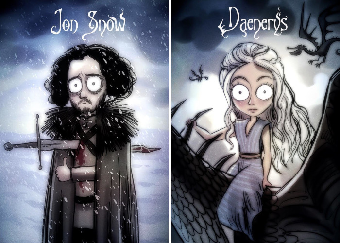 Game of Thrones Tim Burton