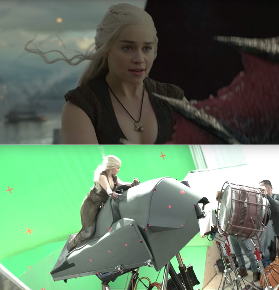 Game of Thrones VFX Dragons