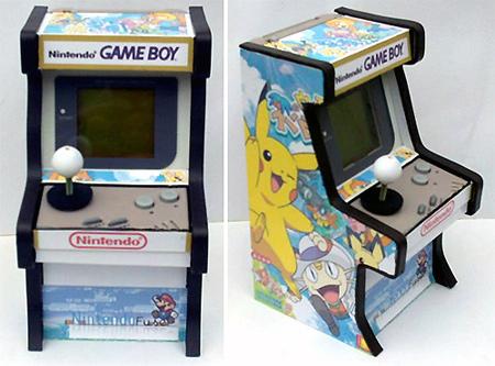 Custom Nintendo Game Boy Arcade Cabinet - TechEBlog