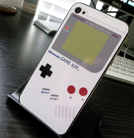 For an iPhone 4 skin that makes your handset look like a classic Nintendo