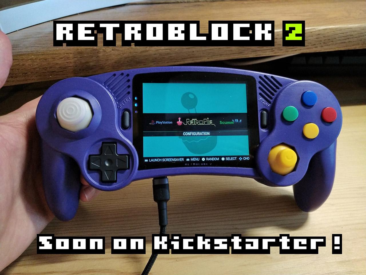 GameCube Handheld Console RetroBlock2